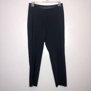 Escada Women's Black High Waisted Dress Pants 10